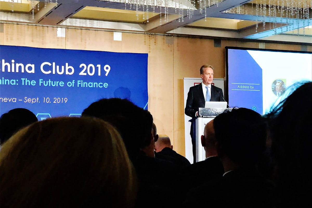 World XR at China Club, organized by the Sino-Swiss Chamber of Commerce