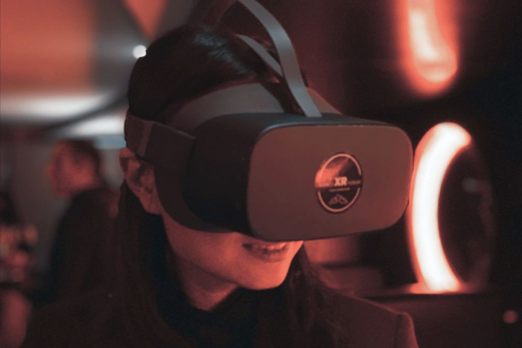 World XR at China Club, organized by the Sino-Swiss Chamber of Commerce - VR glasses